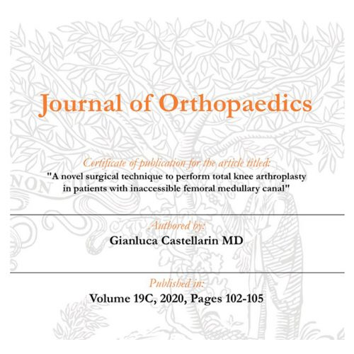 Journal of Orthopaedics
